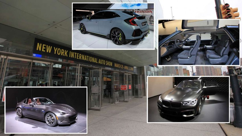 Rundgang und Highlights auf der New York Autoshow 2016