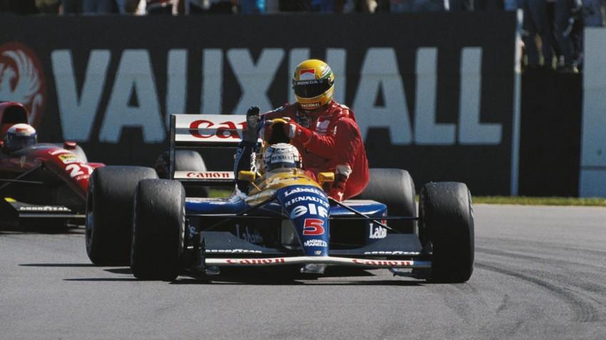 Nigel-Mansell-Ayrton-Senna-Silverstone-1991