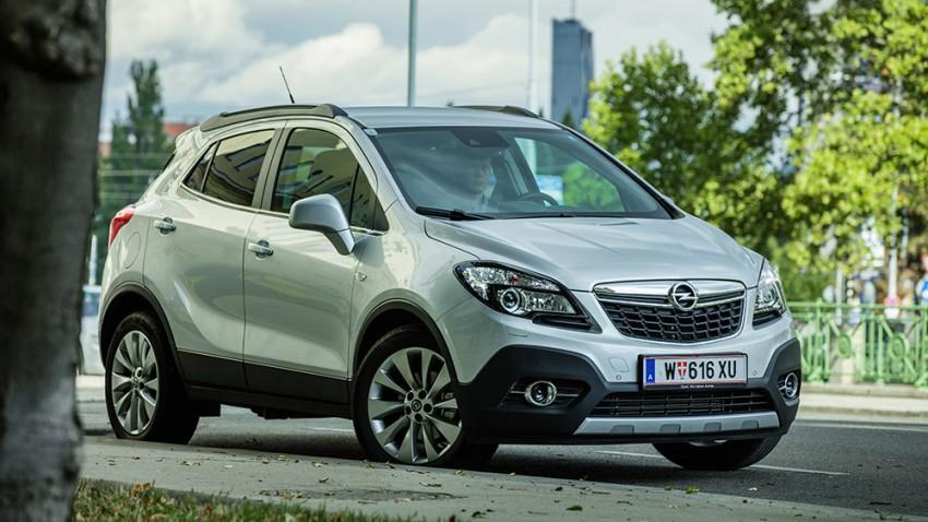 Opel Mokka cdti 4x4 2016 kühlergrill seite front vorne