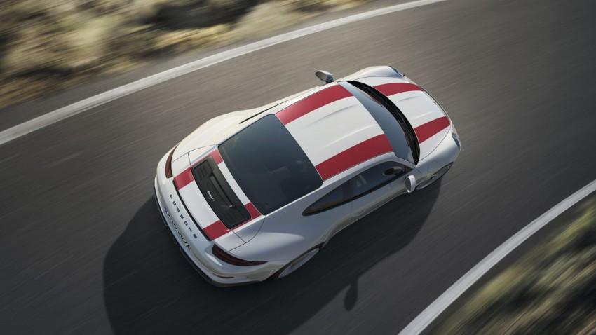 Porsche 911 R: 500 PS, Handschaltung und limitiert auf 991 Stück