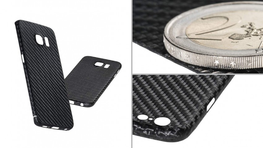 Cover aus Carbon fürs iPhone und Smartphone