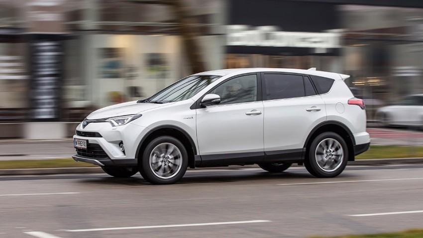 Toyota RAV4 Hybrid: Sparen verstehen