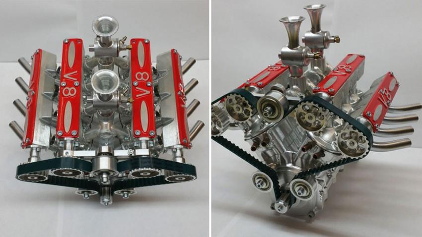 Bau dir deinen V8-Motor