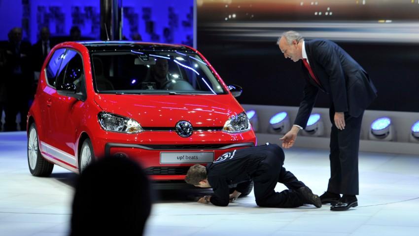 Falscher Mechaniker ärgert VW bei Autosalon Genf