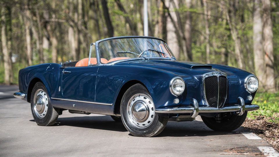 1958 lancia aurelia b24s convertible von pinin farina : autorevue.at