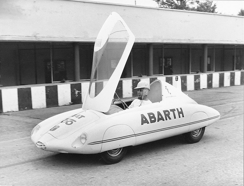 Rekordfahrt im Abarth 500