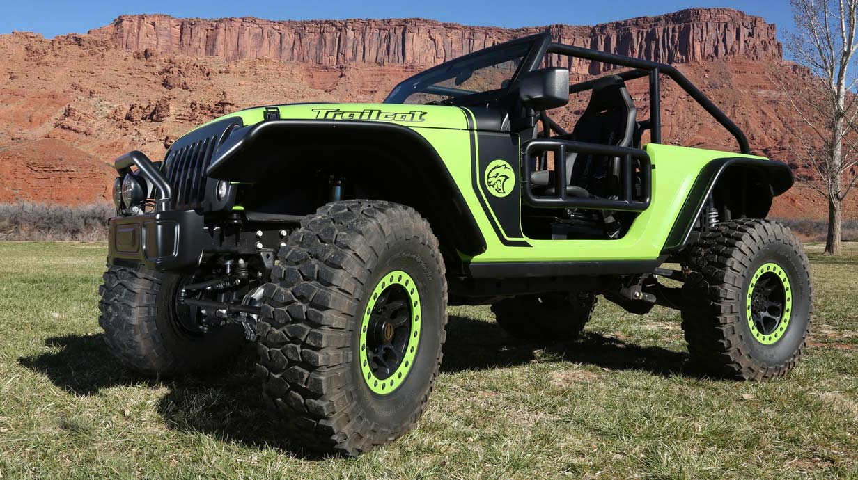 Jeep Trailcat Concept Car 2016