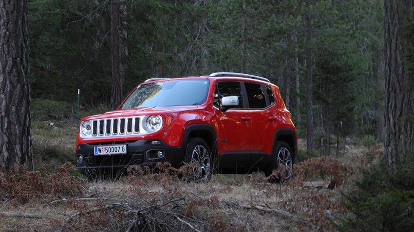 Jeep Renegade: Cowboystiefel mag ich sehr