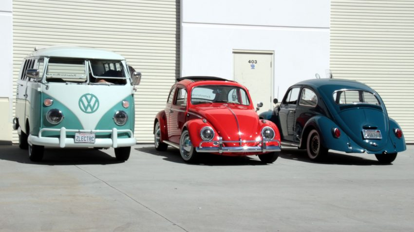 Aus VW-Klassikern werden Elektroautos