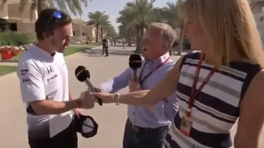 Fernando Alonsos scharfe Zunge im Einsatz