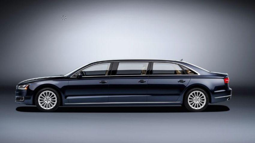Audi XXL, äh, A8 L extended