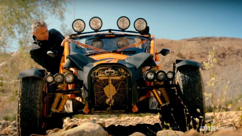 Neuer Top Gear-Trailer: Action im Ariel Nomad