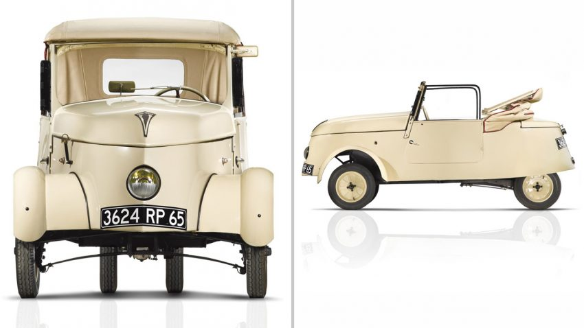 1941 Peugeot VLV: Das 1. Elektroauto der Franzosen