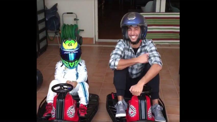 Felipe Massas Sohn fordert Daniel Ricciardo