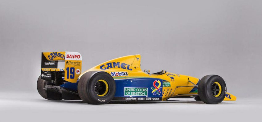 schumacher benetton 12