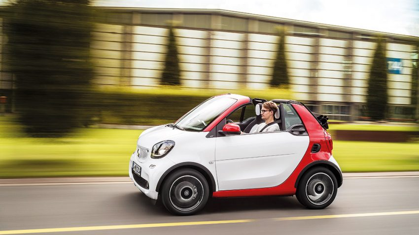 Smart Fortwo Cabrio: Schnell ohne Eile