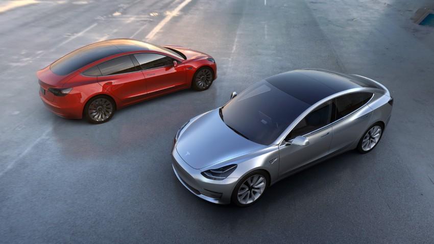 Das ist das Tesla Model 3