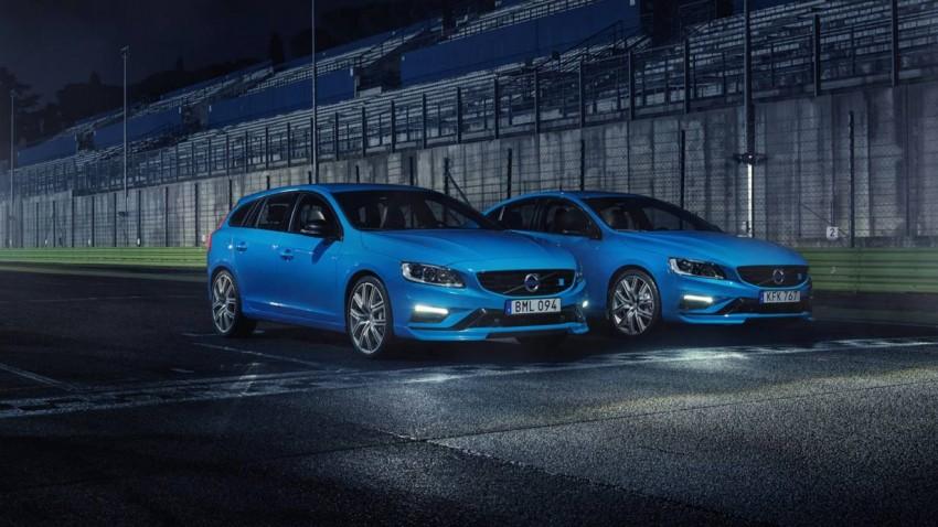 Volvo S60 und V60 Polestar 2016: Weniger Zylinder, mehr PS, weniger Sound?