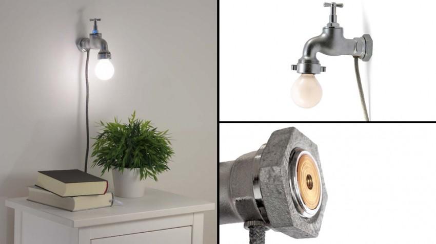 wasserhahn-lampe