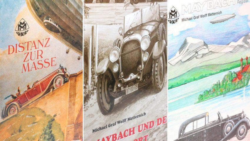 3 besondere Bücher für Maybach-Fans