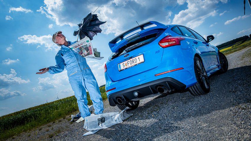 Ford Focus RS 2016 heck hinten heckspoiler