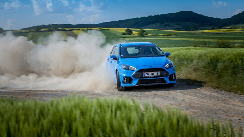 Ford Focus RS 2016 drift vorne front
