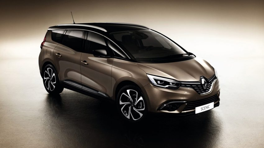 Renault Grand Scénic: Serienmäßig auf großem Fuß