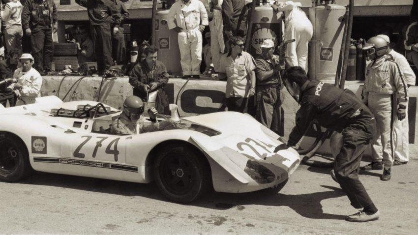Auf der Targa Florio im Porsche 356