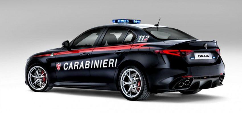 alfra romeo giulia carabinieri4