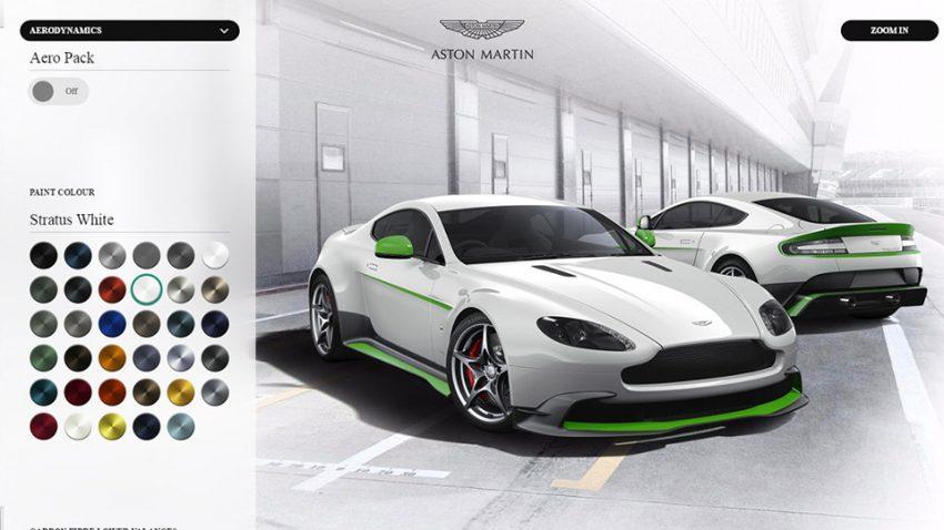 Wie würde euer Aston Martin Vantage GT8 aussehen?