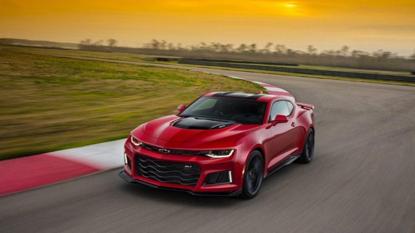 Genießt den Sound des Chevrolet Camaro ZL1