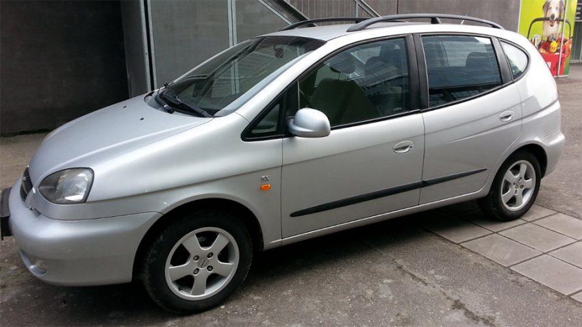Chevrolet Tacuma 1.6 SX mit Klima und Standheizung