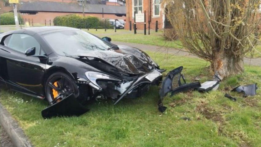 McLaren 650S: Instant-Crash nach 10 Minuten