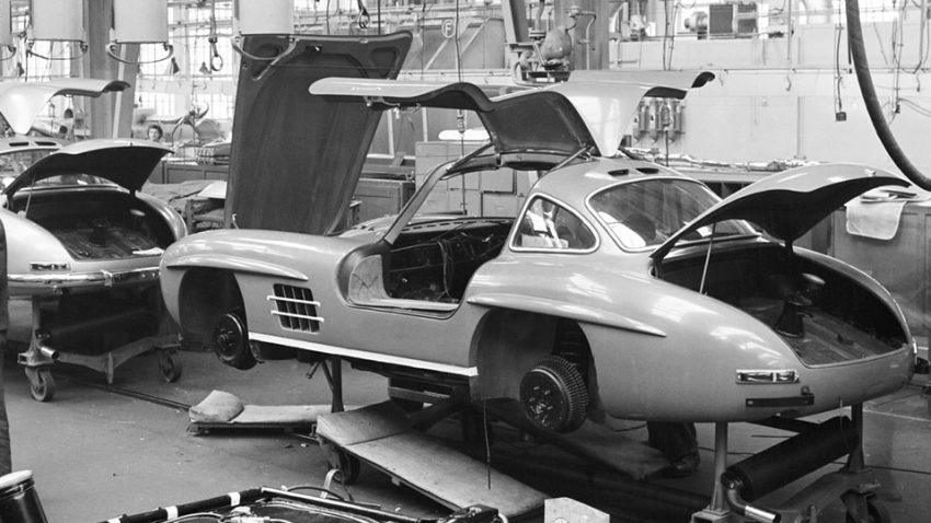 Mercedes-Benz 300SL kurz erklärt: Tauchstation per Fettzug