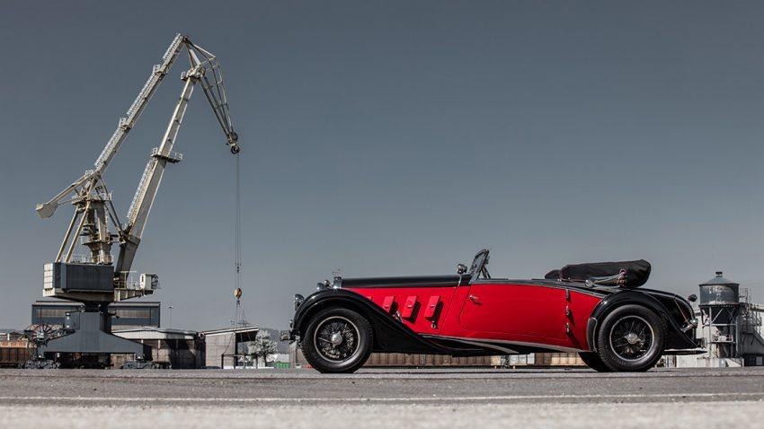 Austro Daimler Bergmeister Cabriolet Spezial 1932: Der Salon des Zuckerfabrikanten