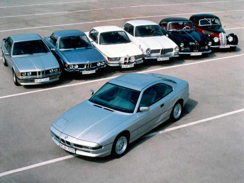 Familienfoto BMW 8er Baureihe E31