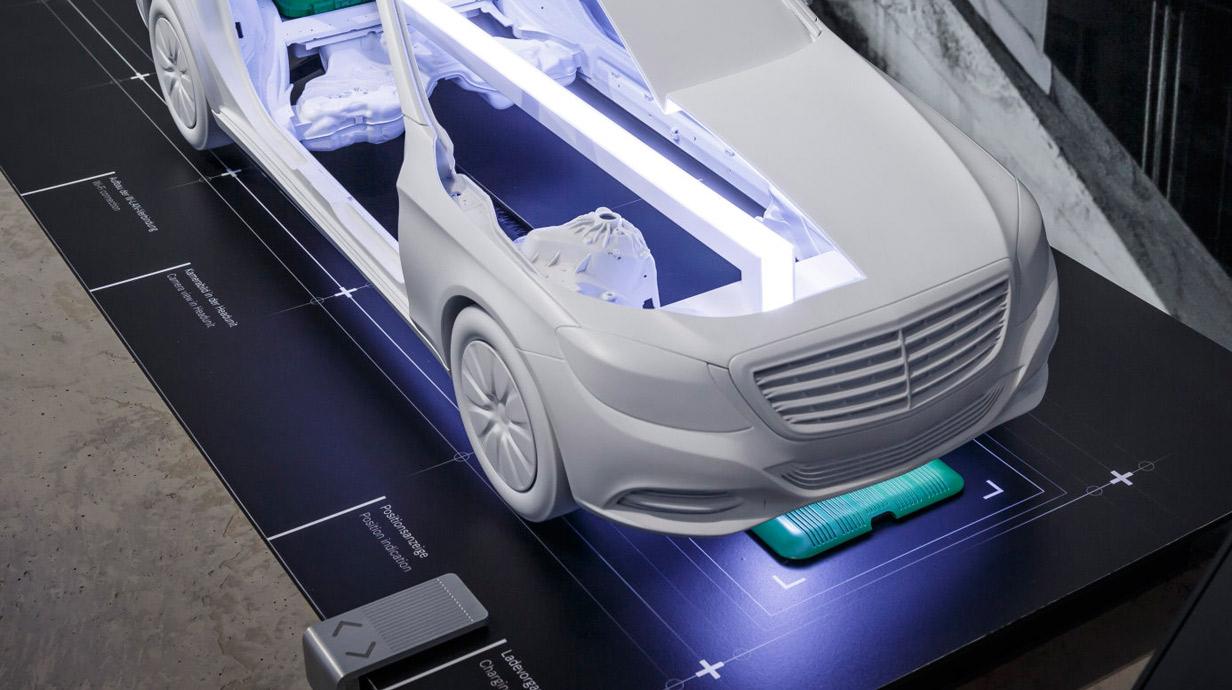 aufladen per induktion elektroautos und plug in hybride. Black Bedroom Furniture Sets. Home Design Ideas