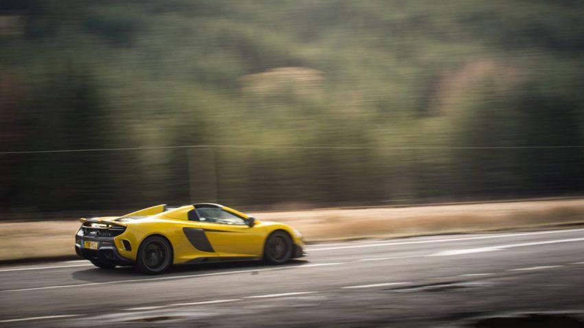 Eine Stunde im McLaren 675LT Spider
