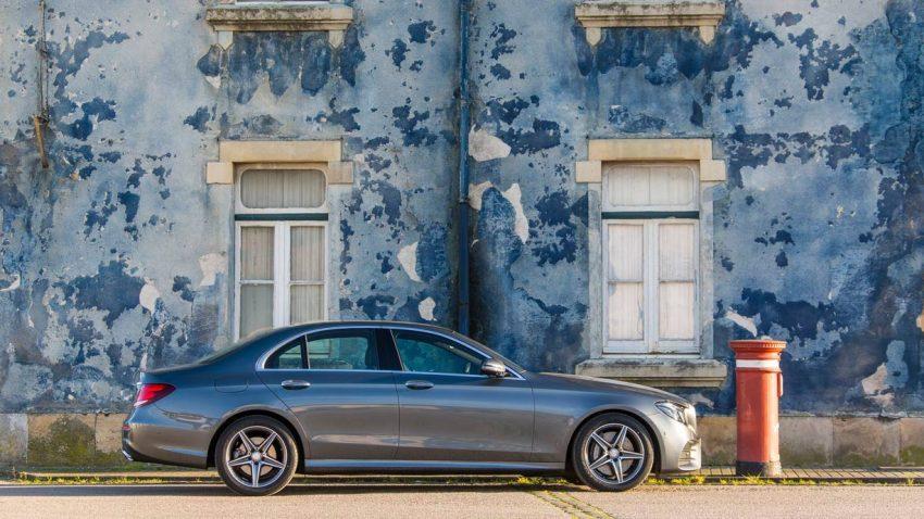 Mercedes-Benz E 350 d: Selbst oder doch lieber selbstständig?