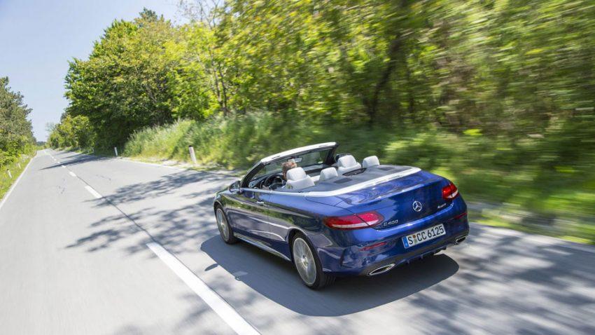 Mercedes C400 Cabrio: Emotion und heiße Luft