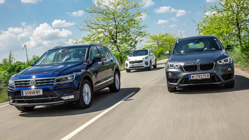 Durch die Aufwertung aufgrund des Modellwechsels ist der Tiguan nun eindeutig zu einem Gegnerauf Augenhöhe zum nächsten erfolgreichen SUV geworden, dem BMW X1.