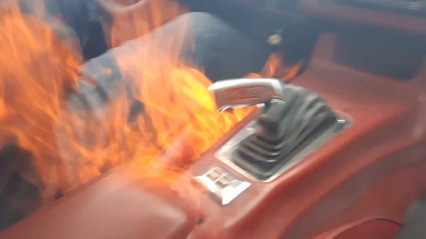 Dieser Camaro hat Feuer!