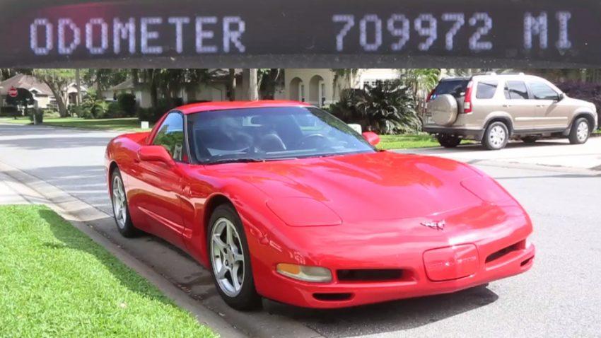 Diese Corvette hat 1,1 Millionen Kilometer am Tacho