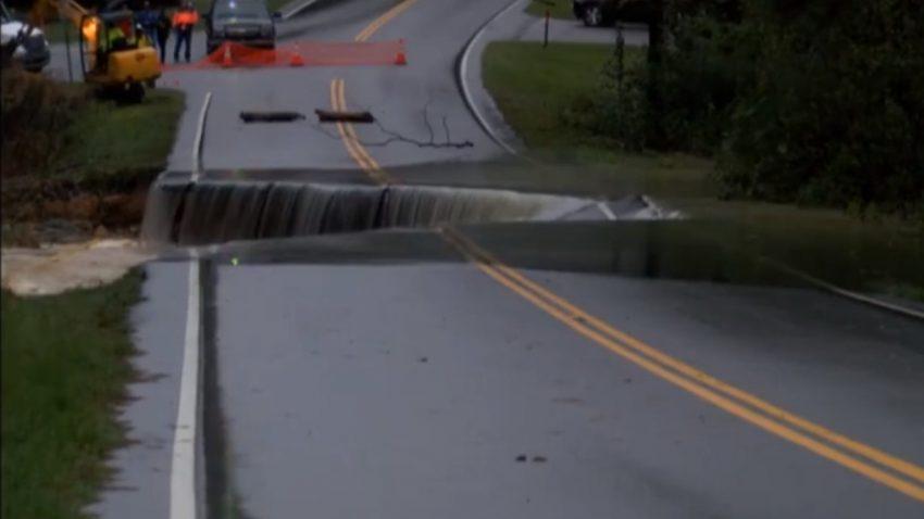 Warum man überflutete Straßen nie befahren sollte
