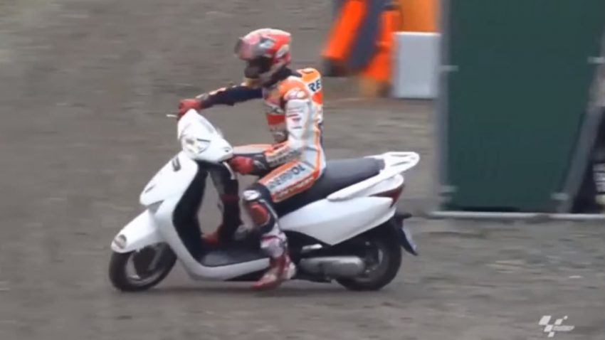marc marquez scooter