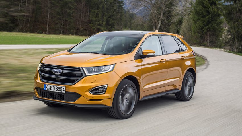 Ford Edge: Edge Badge