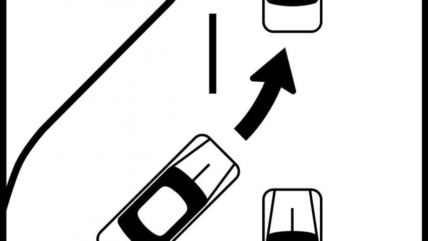 Hinweiszeichen-reissverschlusssystem