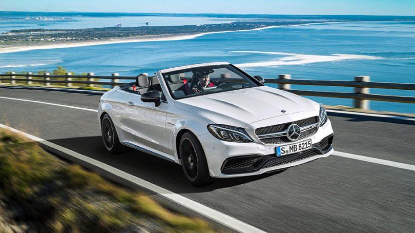 Mercedes C-Klasse Cabrio: Flüstern im Orkan