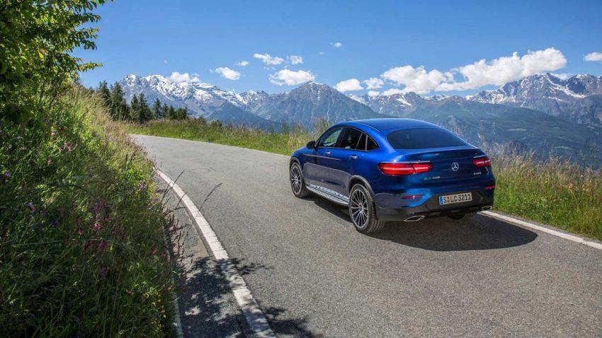 Mercedes GLC Coupé im Erfolgssegment