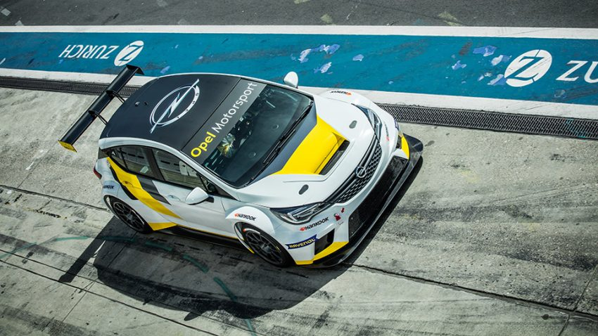 Opel Astra TCR: Das fängt ja gut an